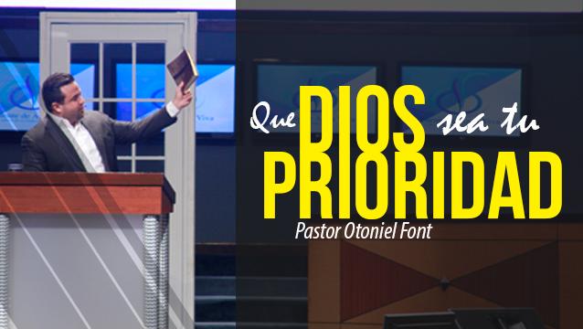 Que Dios Sea tu Prioridad